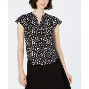 Calvin Klein Womens Blouse - Career Top, Size M
